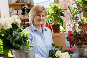 Sylvie, fleuriste